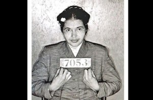 Rosa Parks' mugshot, courtesy of Colorlines