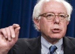 photo of Sen. Bernie Sanders via Huffington Post