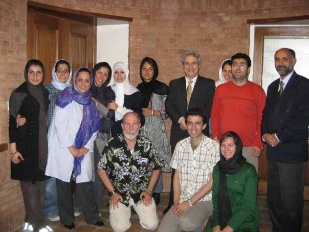 meeting with Miles for Peace activists in Tehran