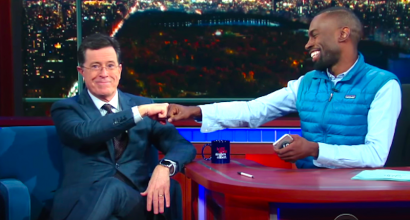 Stephen-Colbert-and-DeRay-McKesson-YouTube-410x220