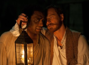 """Chiwetel Ejiofor and Michael Fassbender in """"12 Years a Slave"""""""